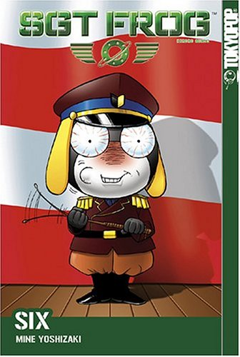 Sgt. Frog Book 6 cover