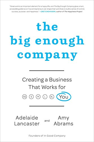 587. The Big Enough Company: Creating a Business That Works for You