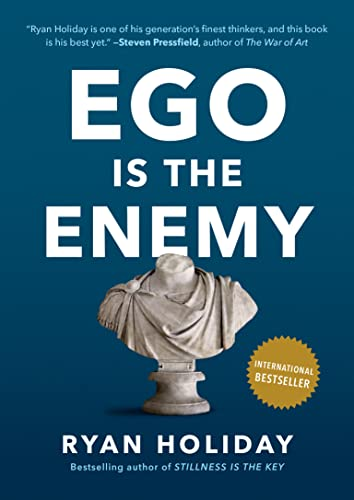 cover for Ego is the Enemy