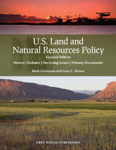 Book cover for U.S. land and natural resources policy.