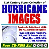 21st Century Super Collection of Hurricane Images 4 CD-ROM Set