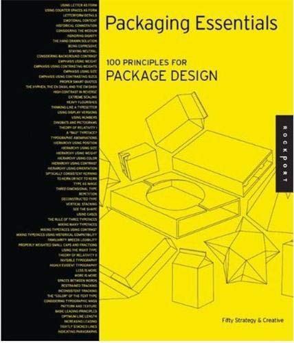 Pdf packaging essentials design principles for