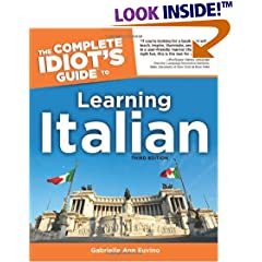 Complete Idiot's Guide to Learning Italian, 3E