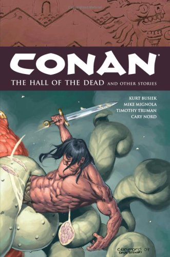 Conan Vol. 4: The Hall Of The Dead And Other Stories Cover