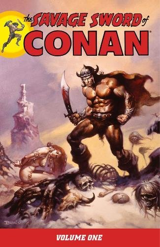 The Savage Sword Of Conan Vol. 1 Cover