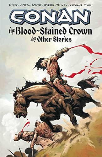Conan: The Blood-Stained Crown And Other Stories Cover