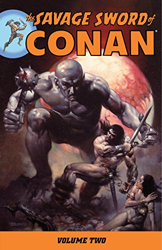 The Savage Sword Of Conan Vol. 2 Cover