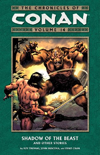 The Chronicles Of Conan Vol. 14: Shadow Of The Beast And Other Stories Cover