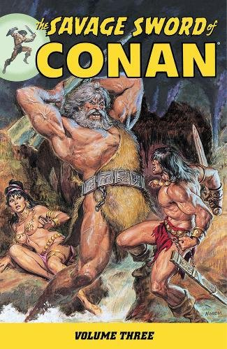 The Savage Sword Of Conan Vol. 3 Cover