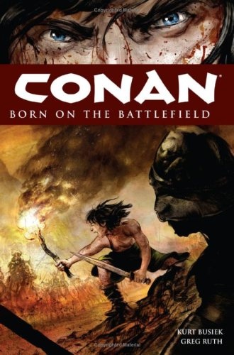 Conan: Born on The Battlefield Cover