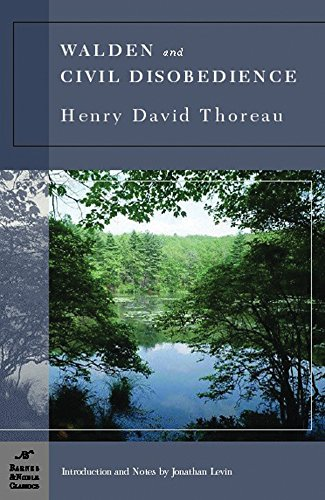 Walden and Civil Disobedience (Barnes & Noble Classics), Thoreau, Henry David