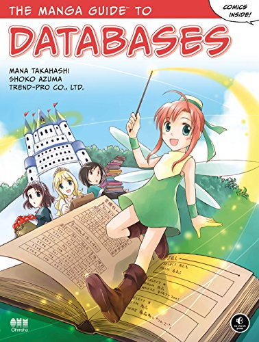 The Manga Guide to Databases cover