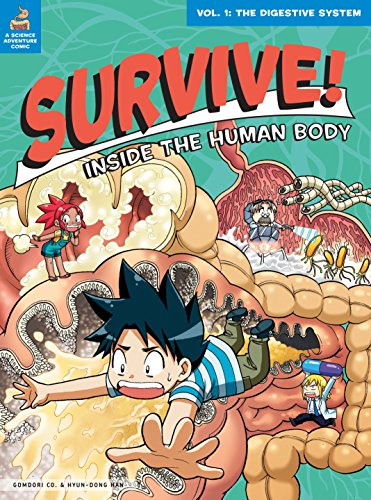 Survive! Inside the Human Body Book 1: The Digestive System cover