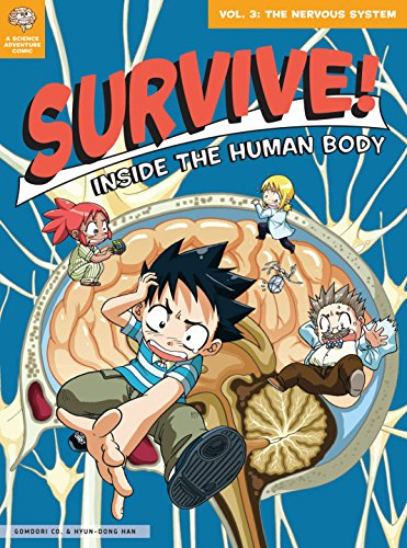 Survive! Inside the Human Body Book 3: The Nervous System cover