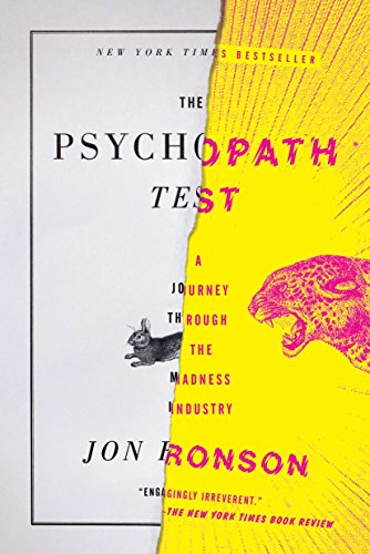 The Psychopath Test Book Cover Picture