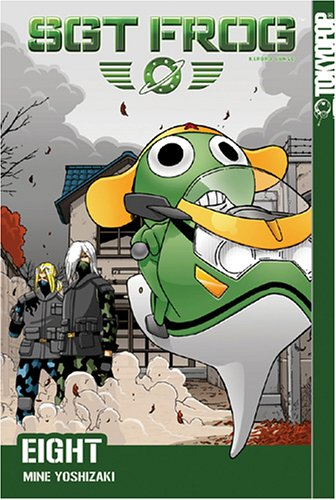Sgt. Frog Book 8 cover