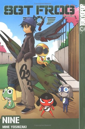 Sgt. Frog Book 9 cover