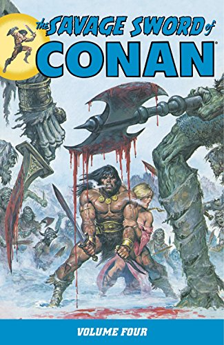 The Savage Sword Of Conan Vol. 4 Cover