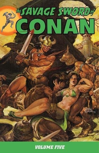The Savage Sword Of Conan Vol. 5 Cover
