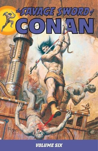 The Savage Sword Of Conan Vol. 6 Cover