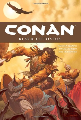 Conan Vol. 8: Black Colossus Cover