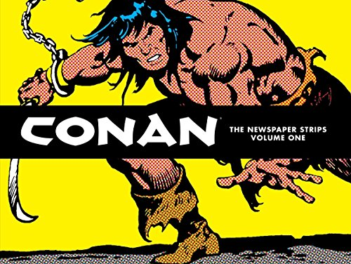 Conan: Newspaper Strips Vol. 1 Cover