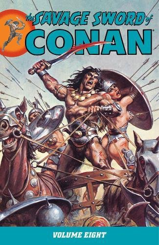 The Savage Sword Of Conan Vol. 8 Cover