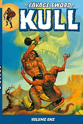 The Savage Sword Of Kull Vol. 1 Cover