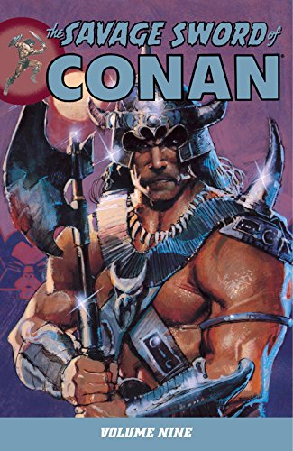 The Savage Sword Of Conan Vol. 9 Cover