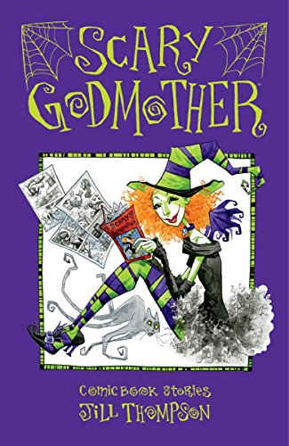 Scary Godmother Comic Book Stories cover