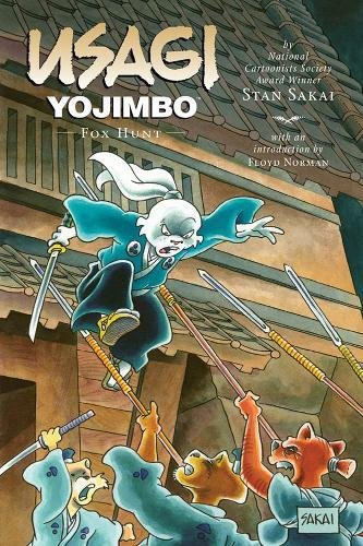 Usagi Yojimbo: Fox Hunt cover