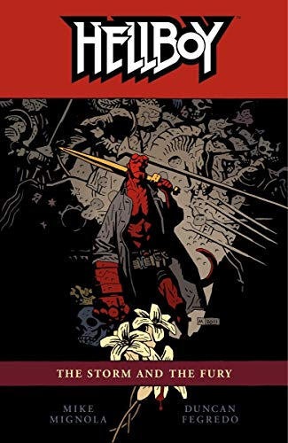 Hellboy Volume 12: The Storm and the Fury cover
