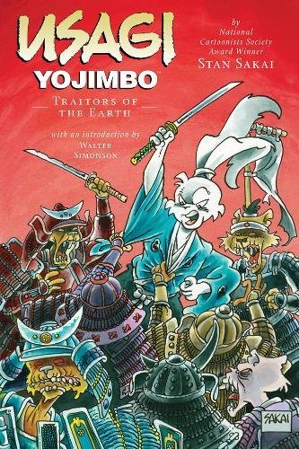 Usagi Yojimbo: Traitors of the Earth cover