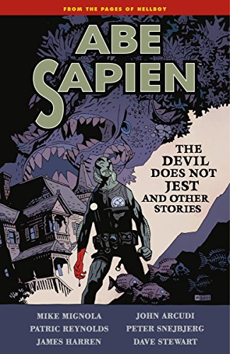 Abe Sapien: The Devil Does Not Jest cover