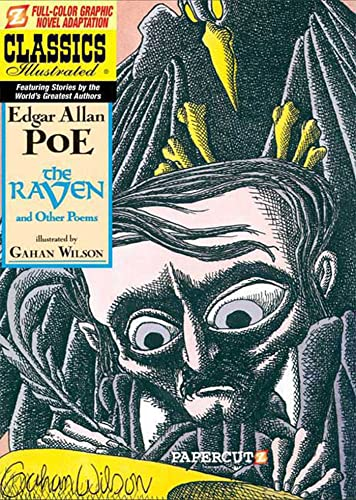 Classics Illustrated: The Raven cover