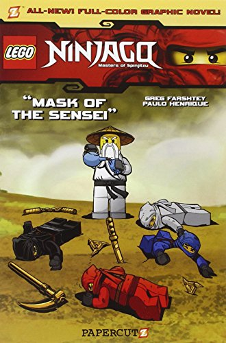 Mask of the Sensei cover