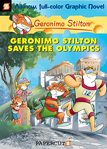 Geronimo Stilton Saves the Olympics cover