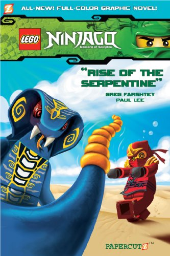 Ninjago Graphic Novels #3: Rise of the Serpentine