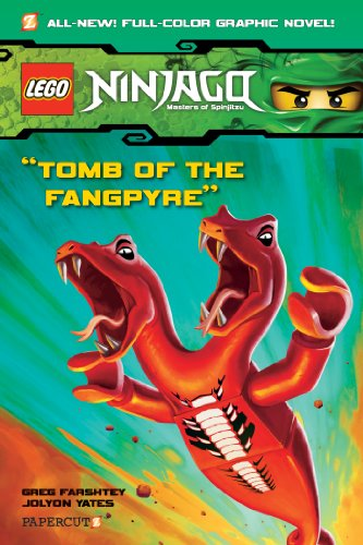 Ninjago Graphic Novels #4: Tomb of the Fangpyre (Ninjago (Quality Paper))