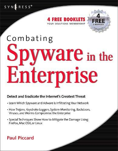 Book Cover: Combating Spyware in the Enterprise