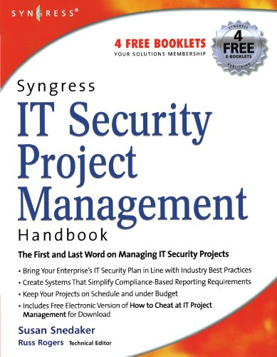 Book Cover: Syngress IT Security Project Management Handbook