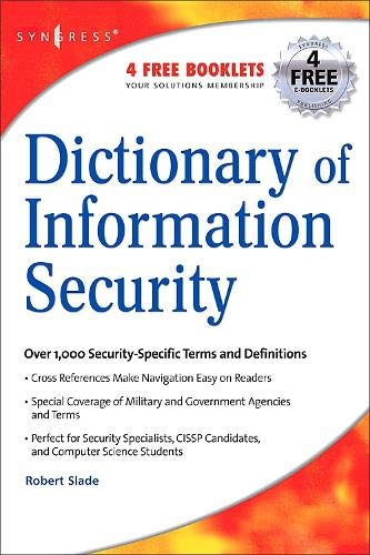 Book Cover: Dictionary of Information Security