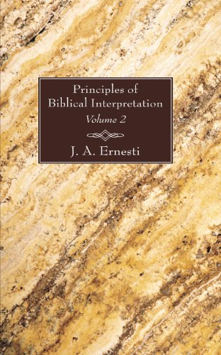 Principles of Biblical Interpretation, 2 Volumes