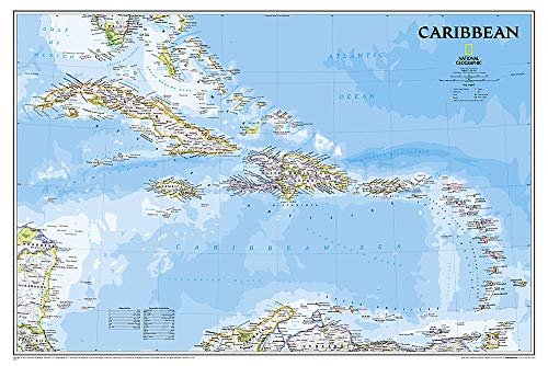 Caribbean Classic [Laminated] (National Geographic Reference Map) - National Geographic Maps - Reference