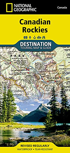 Canadian Rockies (National Geographic Destination Map) - National Geographic Maps
