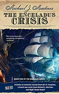 Cover & Synopsis: THE ENCELADUS CRISIS by Michael J. Martinez