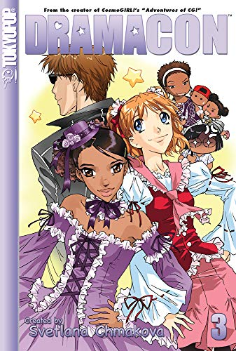 Dramacon Book 3 cover