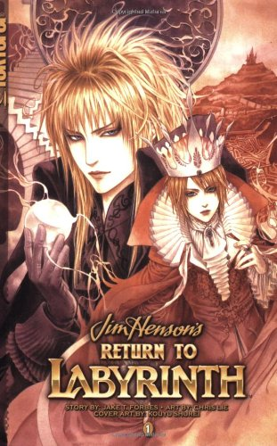 Return to Labyrinth Book 1 cover