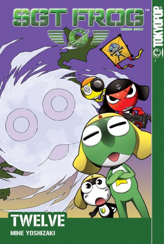 Sgt. Frog Book 12 cover