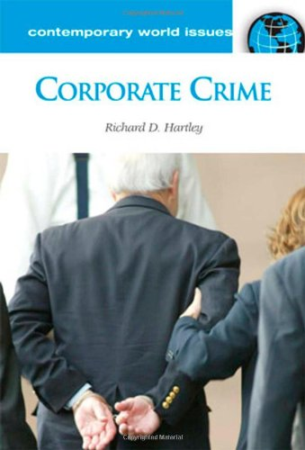 an introduction to the issue of corporate crime Essay on corporate crime  it is an enormously complex global issue that is growing rapidly and is a  introduction corporate crime refers to crimes.